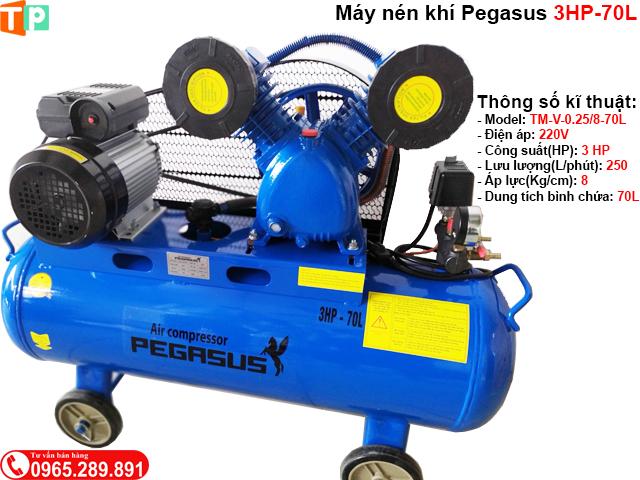 Máy nén khí Pegasus 3HP-70L